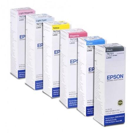 EPSON L800, L805, L810, L850, L1800 oriģinālās tintes 70ml
