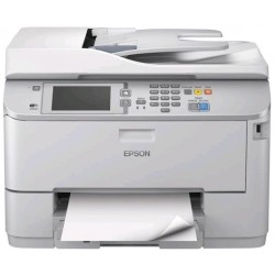 EPSON WorkForce Pro WF-M5690DWF melnbaltais printeris