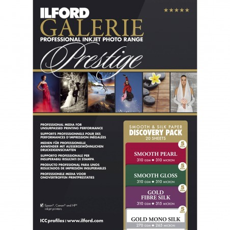 ILFORD GALERIE Prestige Smooth & Silk Discovery Pack