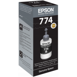 EPSON Pigment ink Black 140ml 774 , T7741